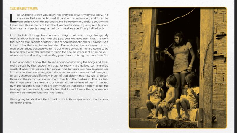 The Impact of Trauma on Marginalized Communities Page 02